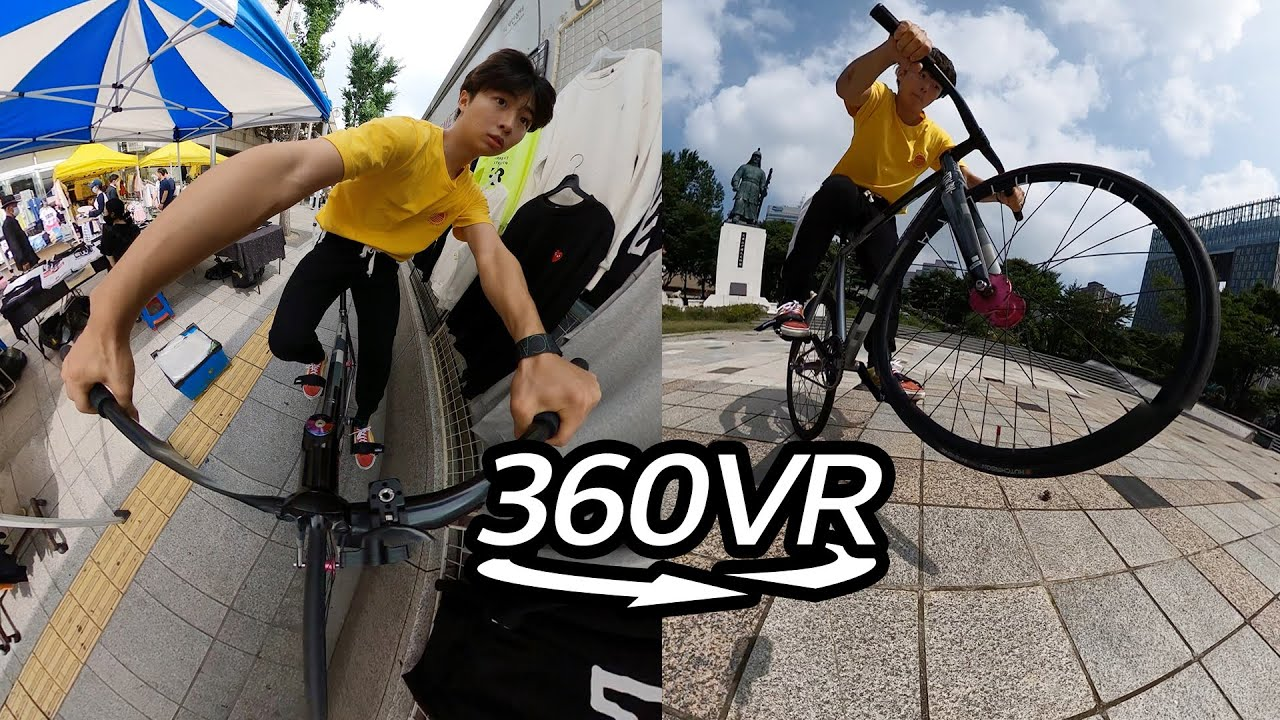 360° View l Fixie Rider, riding on Technology while Feeling the Freedom Ep.25