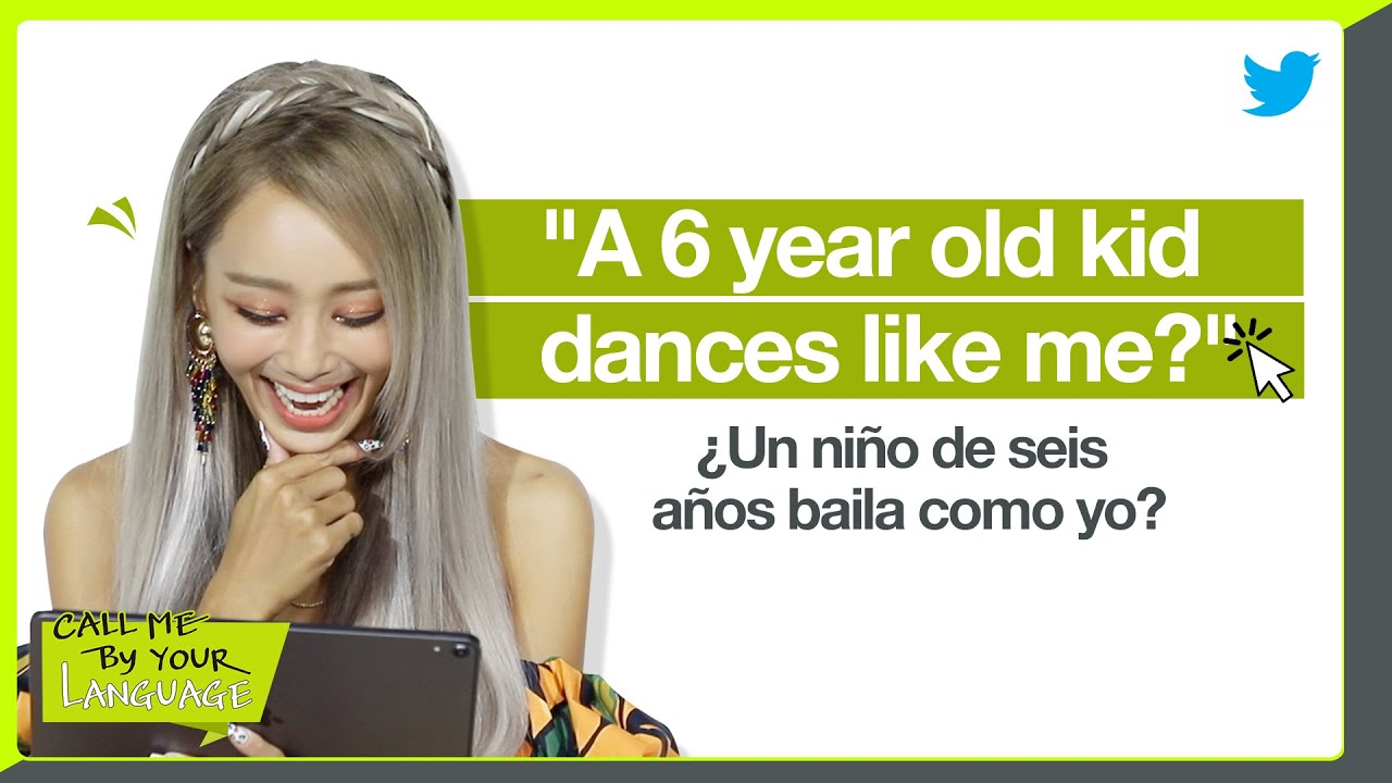 HYOLYN replies to fans in SPANISH | CBL (CALL ME BY YOUR LANGUAGE)