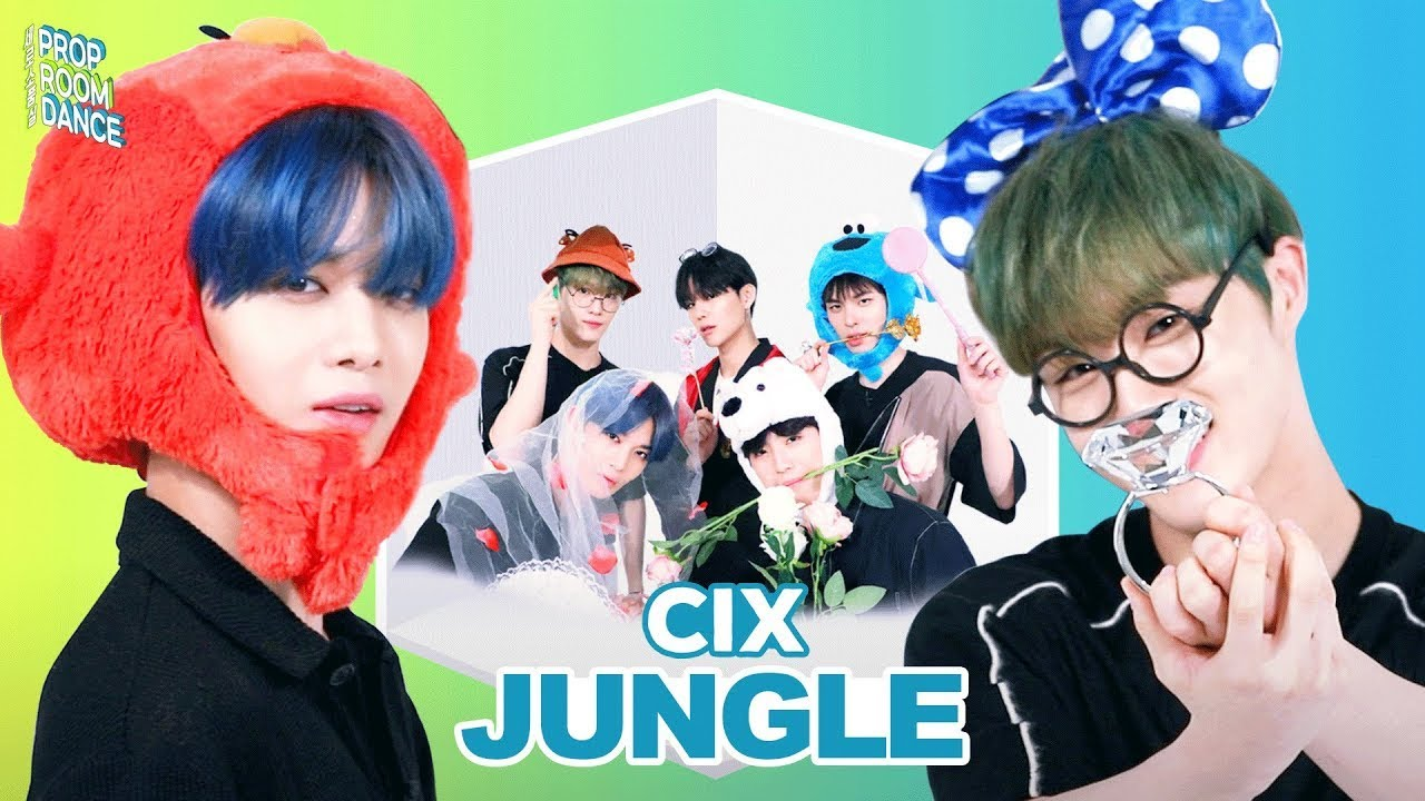 CIX - Jungle | PROP ROOM DANCE | 세로소품실