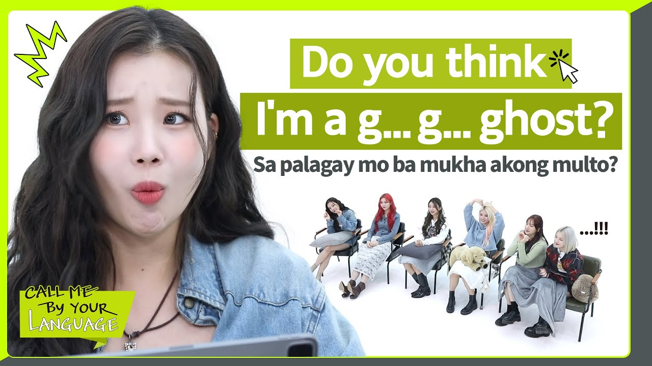 MOMOLAND replies to fans in TAGALOG | CBL (CALL ME BY YOUR LANGUAGE)