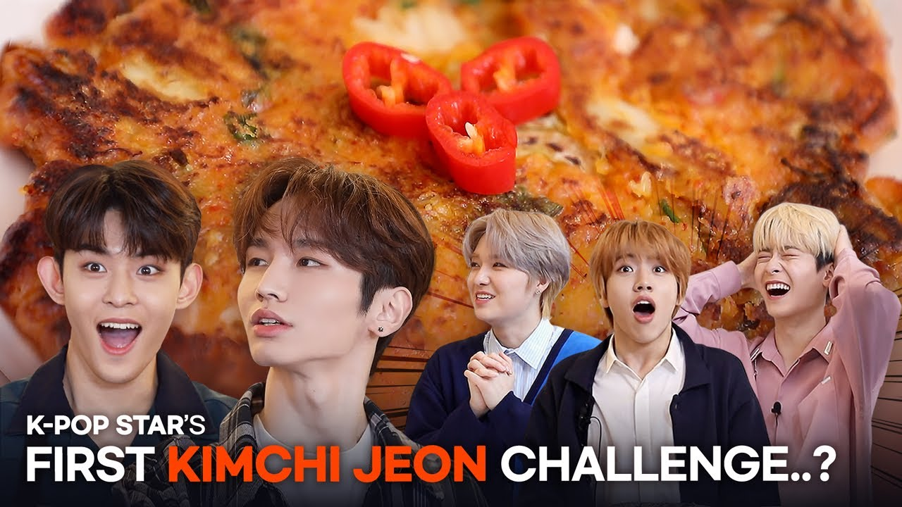 K-pop stars make Korean food for the first time? l Recipe K-food