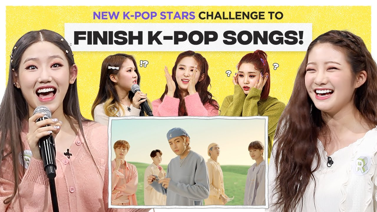 Can Kpop Rookie Group finish the lyrics of BTS, BLACKPINK & ITZY?...