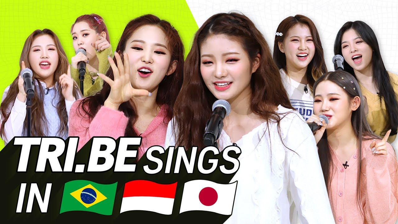 K-POP STARS sing in THREE Languages🎤| POR/INA/JPN | TRI.BE | TRA...