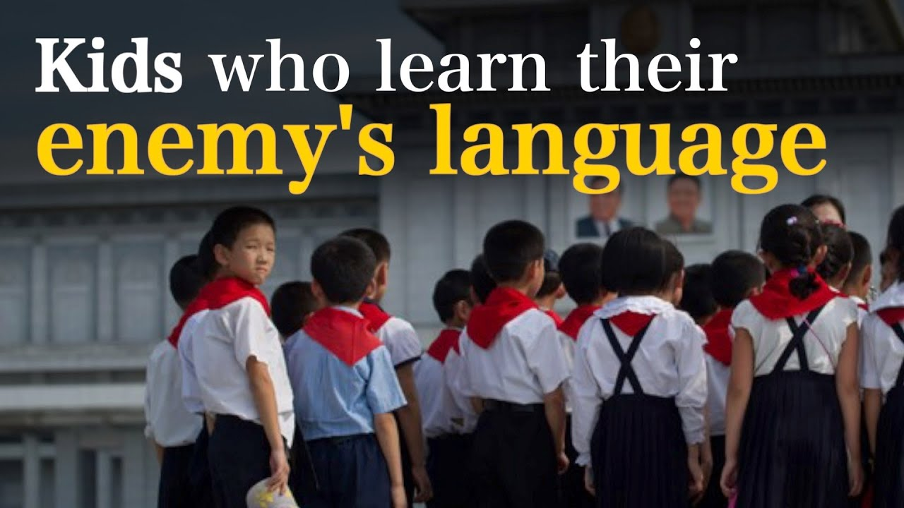 Why North Korean students learn English not Russian?
