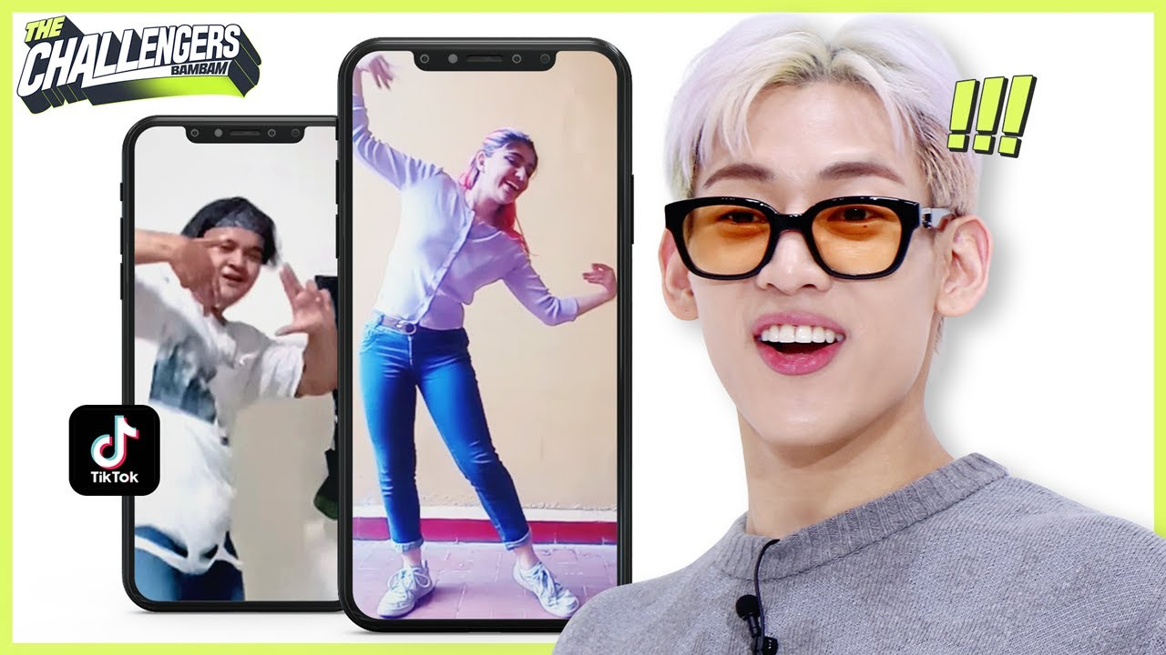 KPOP STARS make a DANCE CHALLENGE with fans   The Challengers_BamBam