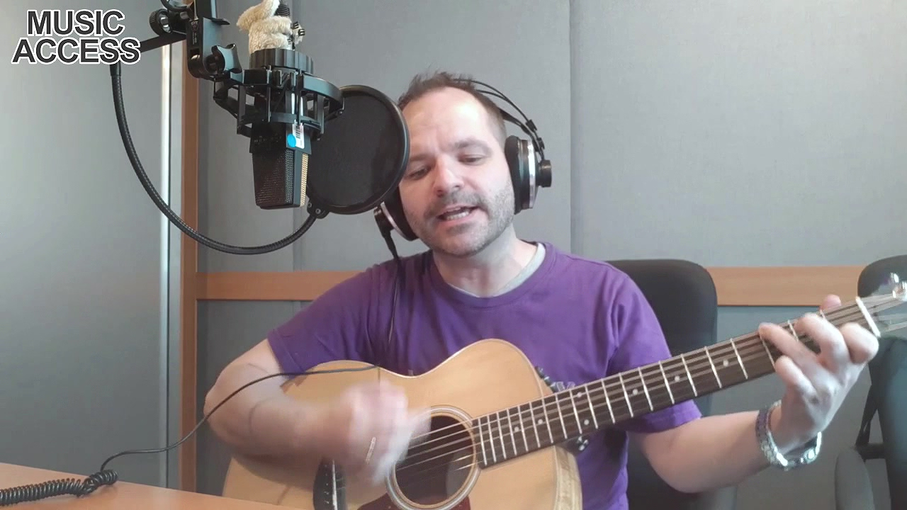 [Music Access] Every time when you cry (John Farnham and Human Nature) - Cover by Ben Akers