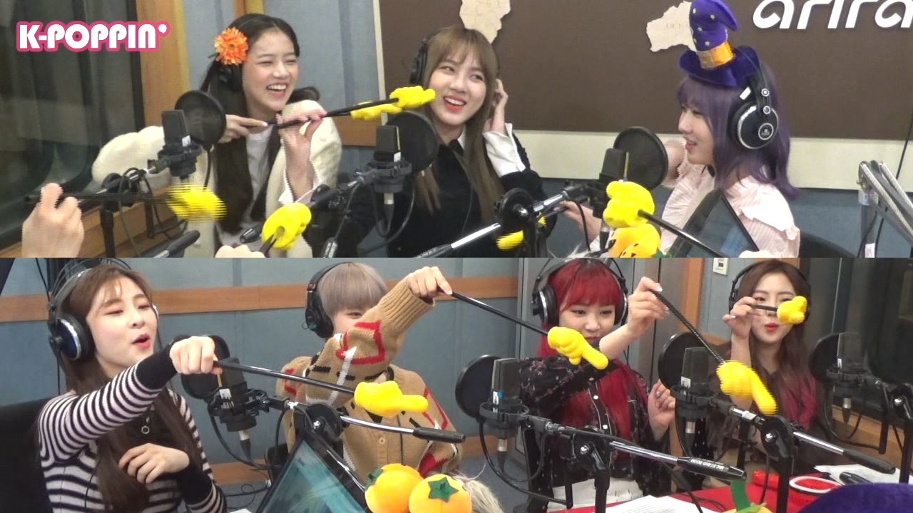 [K-Poppin'] 공원소녀 (GWSN)'s Image Game on Arirang Radio!