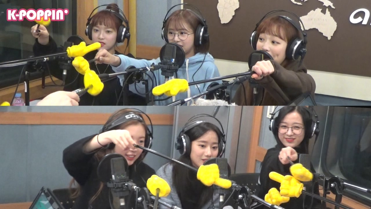 [K-Poppin'] 에이프릴 (APRIL)'s Image Game on Arirang Radio!