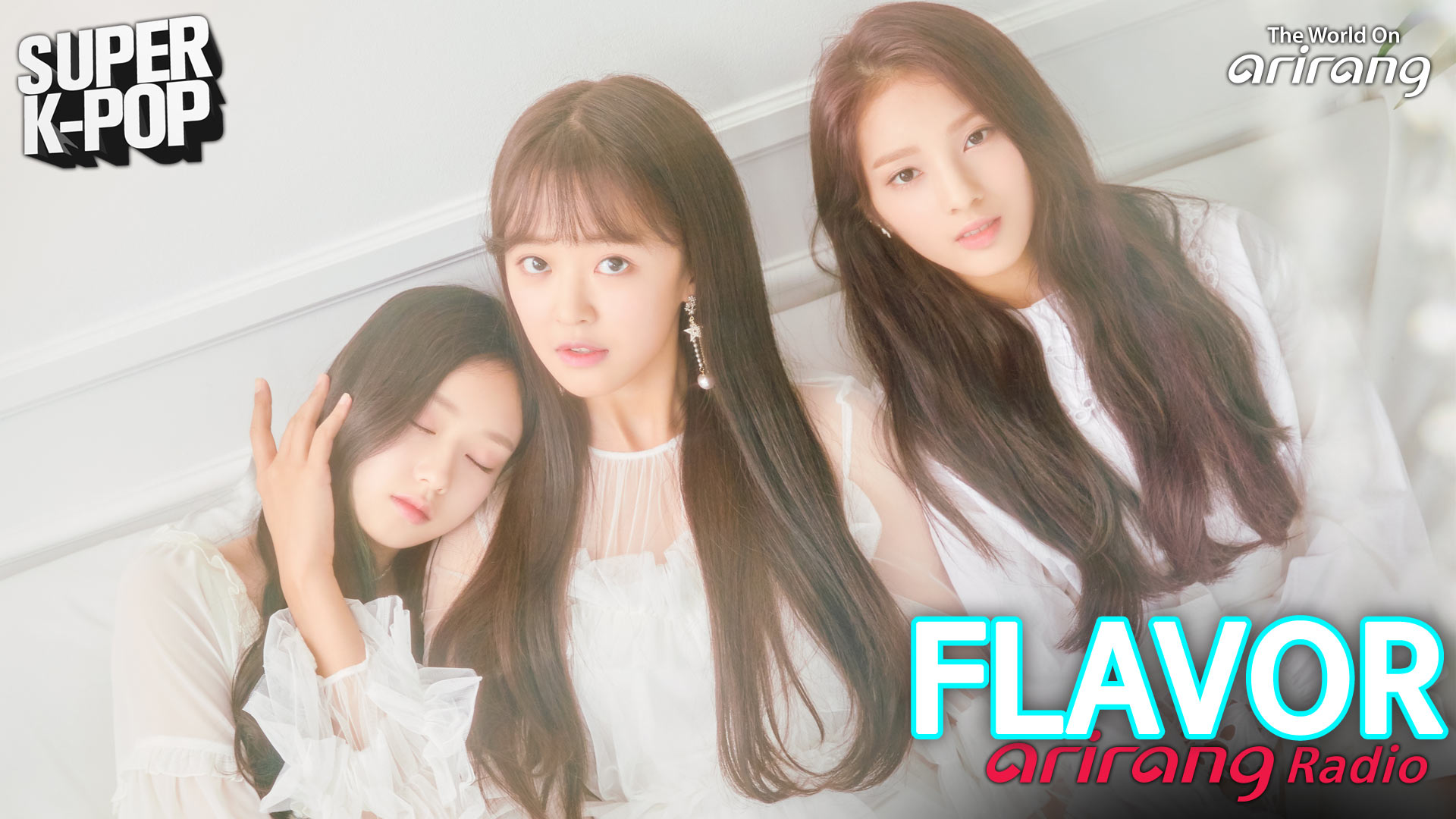 [Super K-Pop] 플레이버 (FLAVOR)'s Full Interview on Arirang Radio!