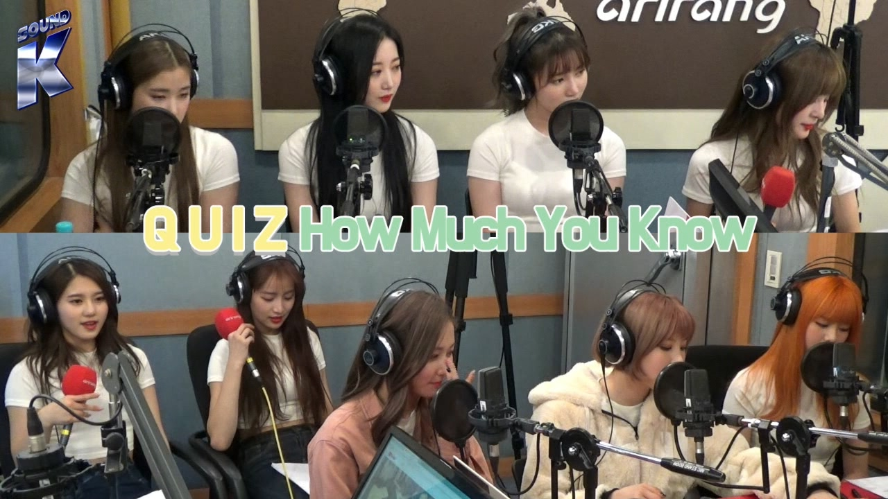 [Sound K] 네이처 (NATURE)'s Episode on Arirang Radio! : Quiz - How Much You Know