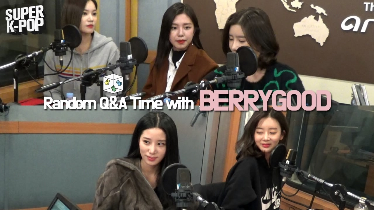 [Super K-Pop] 베리굿 (BERRYGOOD)'s Random Q&A Time on Arirang Radio!