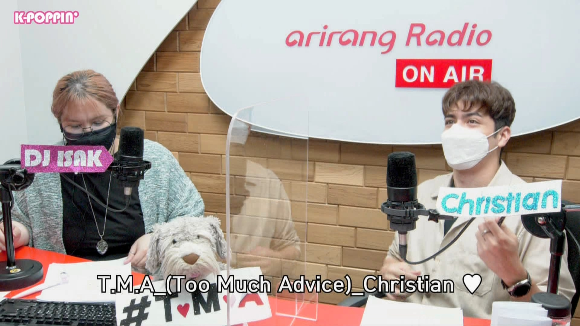[K-Poppin'] Too Much Advice with Christian Burgos 크리스티안 부르고스 : He is too rational in all situations.