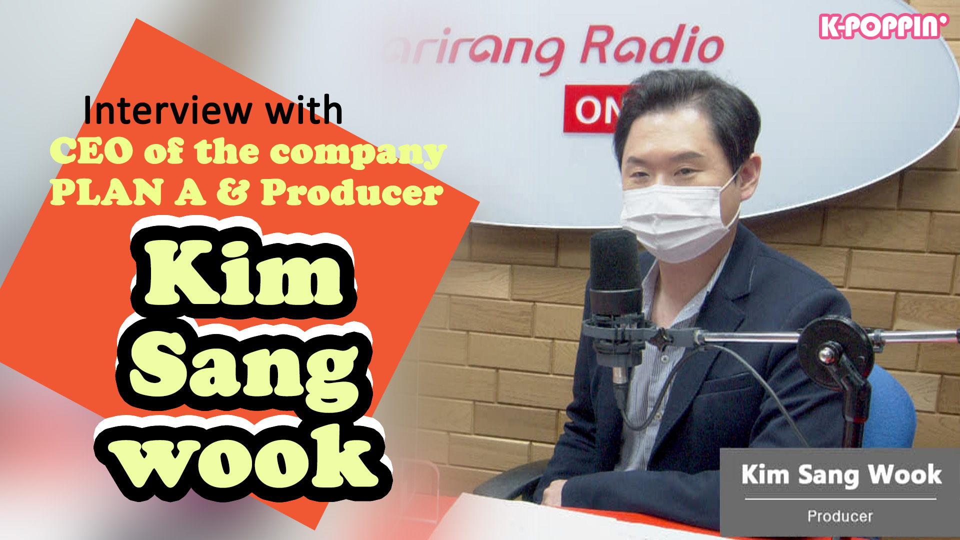 [K-Poppin'] INSIDER with PLAN A CEO & Producer Kim Sangwook (BTS Debut Showcase) #BTS
