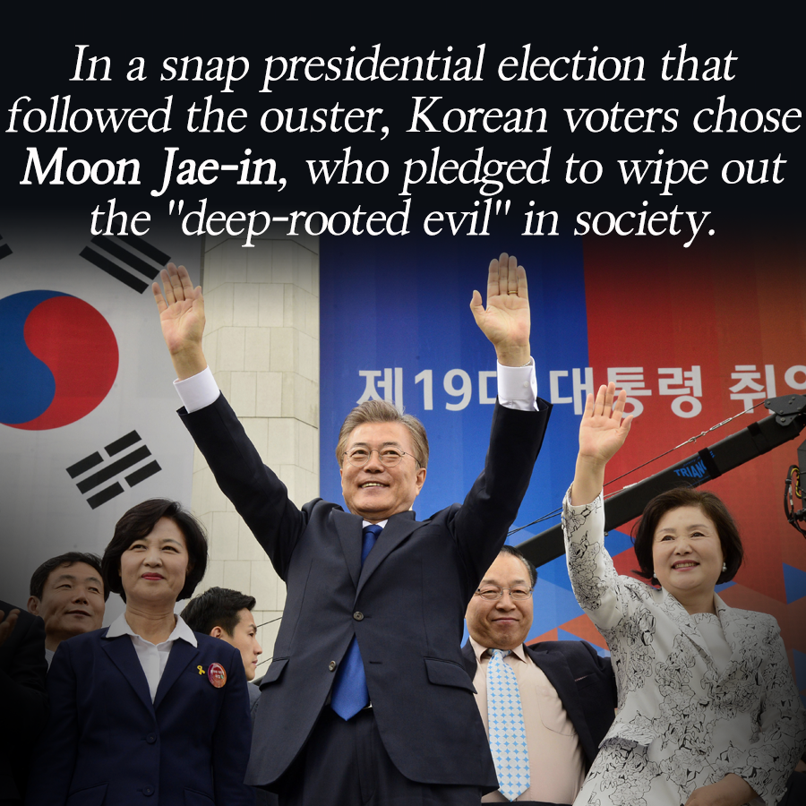Moon Jae-in's Win a Triumph for Democracy