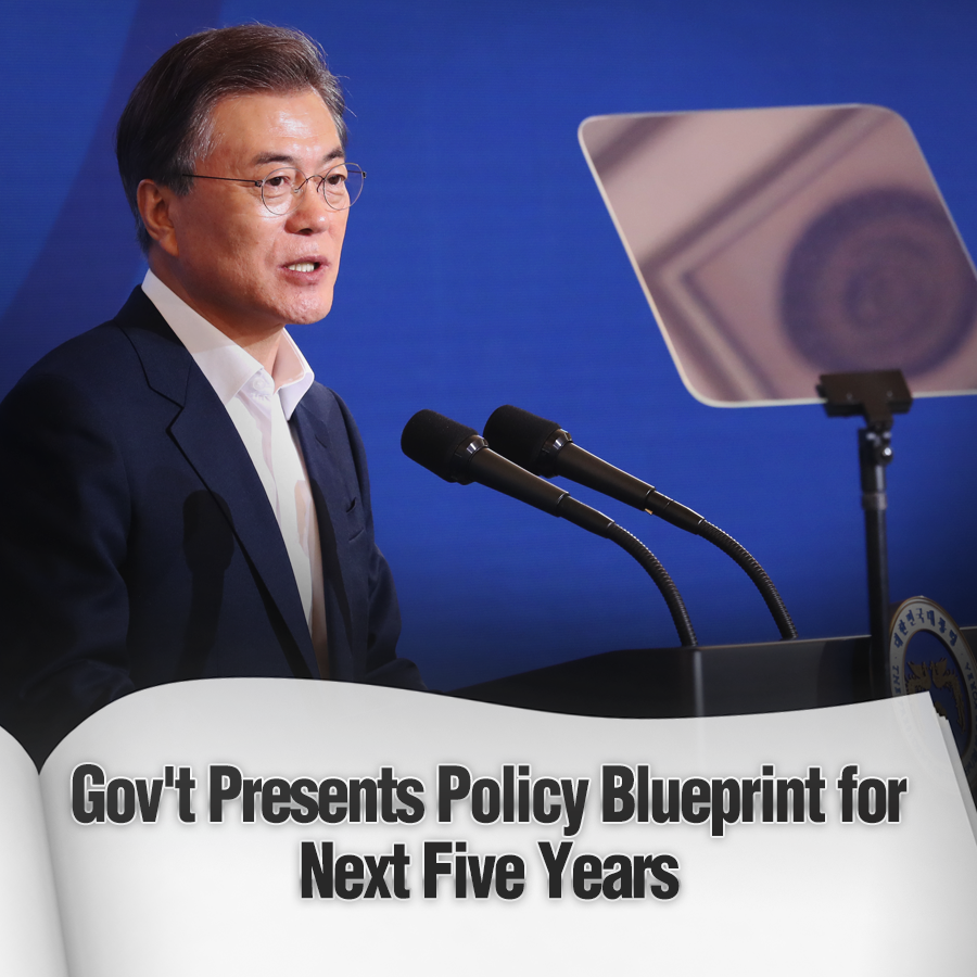 Gov't Presents Policy Blueprint for Next Five Years