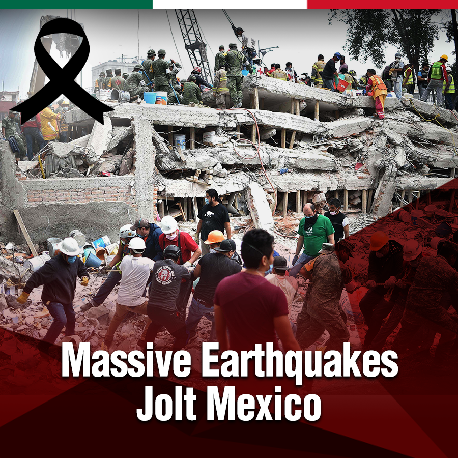 Massive Earthquakes Jolt Mexico