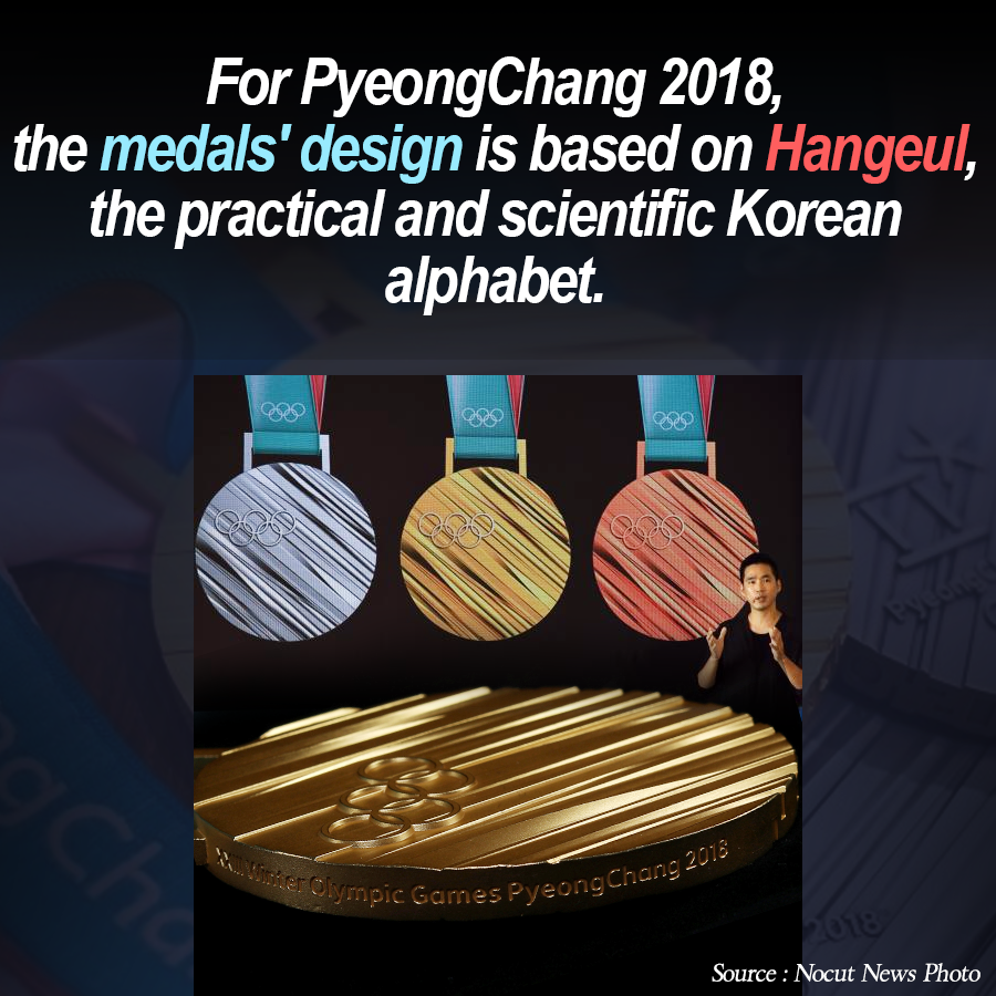 PyeongChang 2018 Medals Unveiled