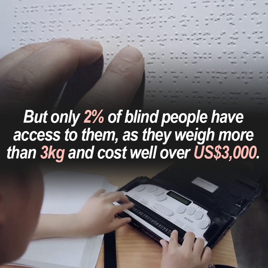 Dot: Life-Changing Technology for the Visually Impaired