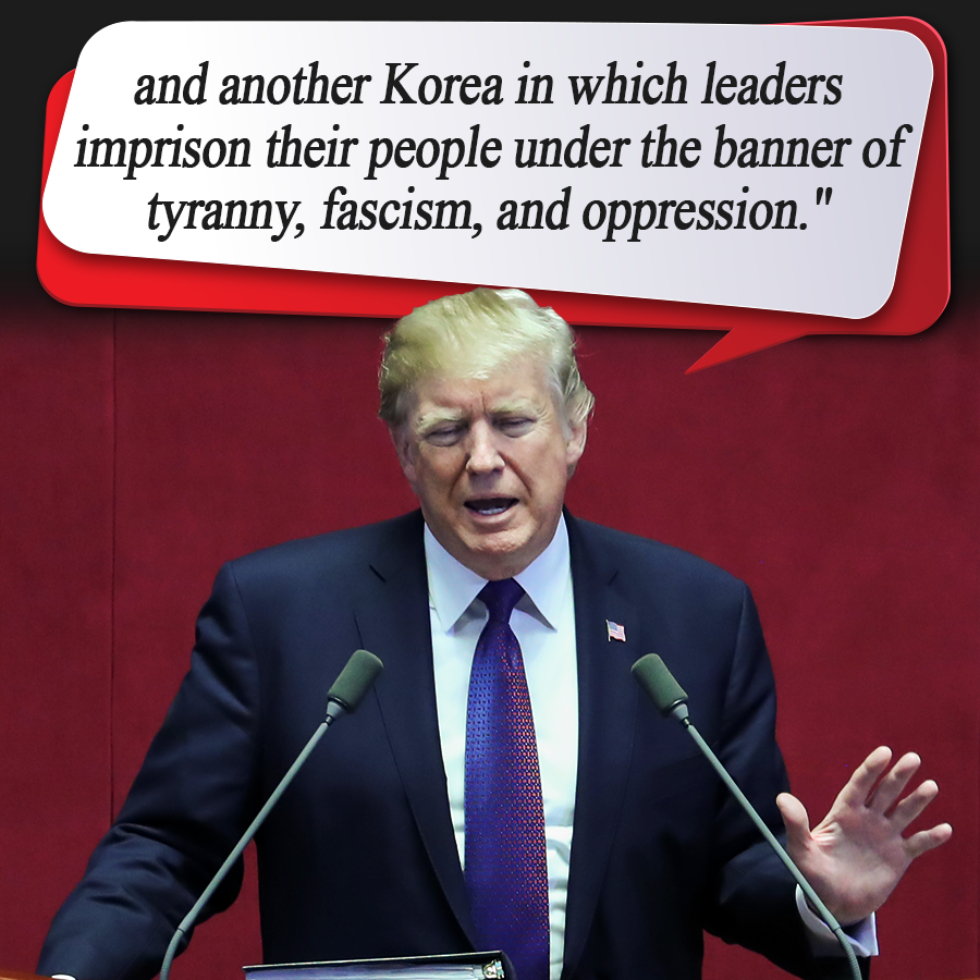 U.S. President Trump's Speech at S. Korea's National Assembly
