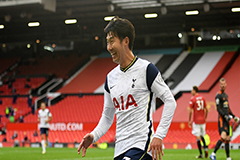 Son Heung-min returns from injury with 2 goals, 1 assist in Spurs' 6-1 win over Manchester United