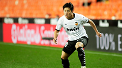 Lee Kang-in's first goal of season came in his 12th appearance of 2020-'21 season