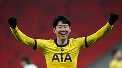 Son Heung-min scores most attacking points in season with his 18th goal