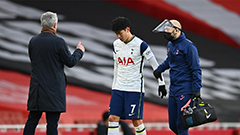 Tottenham's Son Heung-min suffers hamstring injury in North London derby defeat