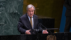 UN chief calls for diplomatic engagement with N. Korea to bring peace, stability on Korean Peninsula