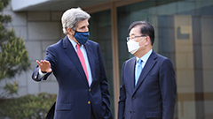 Seoul's FM, U.S. climate envoy discuss joint cooperation to tackle climate change