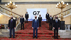 Foreign ministers of G7 discuss rising threats, human rights and democracy