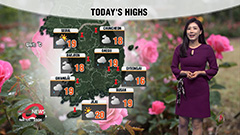 Rain lets up from west this afternoon, cooler highs