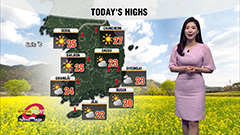 Big rise in highs for most regions, sunny skies in central areas