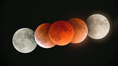 Rare 'super blue blood moon' visible for first time in 3 years