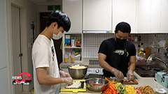 Volunteers in S. Korea spread hope by sharing food and masks with homeless