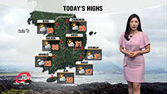 Rain from Jeju this evening, spreading to nationwide overnight