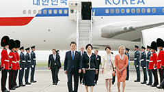 President Moon in Cornwall for G7 Summit