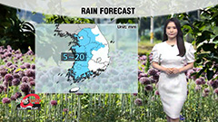 Showers across inland regions through Friday...thunder and lightning to follow
