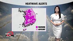 S. Korea under extreme heatwave...year's first tropical night forecast for Seoul