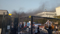 Rioters in S. Africa loot and burn down LG Electronics TV Factory