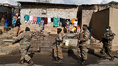 25,000 troops deployed to quell South Africa riots