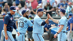 Toronto Blue Jays' Ryu Hyun-jin tosses 7-innings shutout to help side to win against Texas