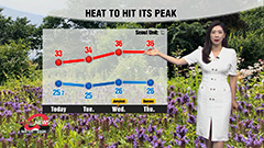 Hotter days ahead
