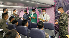 Aircraft carrying 301 Cheonghae Unit members to arrive in S. Korea on Tuesday evening