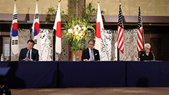 Vice FMs from S. Korea, U.S., Japan hold talks in Tokyo on COVID-19, N. Korea and other issues