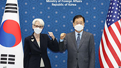 S. Korea, U.S., Japan agree on cooperation for complete denuclearization of Korean peninsula