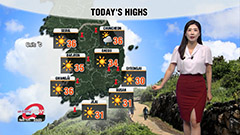 More unbearably hot temperatures under sizzling sunshine