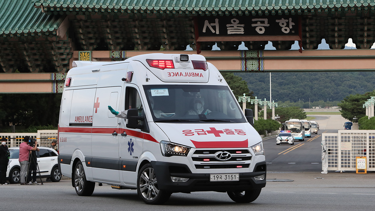S. Korean COVID-19 patients overseas using air ambulances to return home for treatment