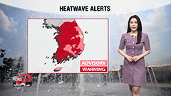 Heatwave alerts raised to warnings for inland regions...scorching heat continues for weekend