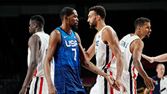 U.S. men's basketball team lose 83-76 to France to end 25 game Olympic winning streak