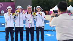 S. Korean women's archery team wins nation's 9th consecutive Olympic gold in Tokyo